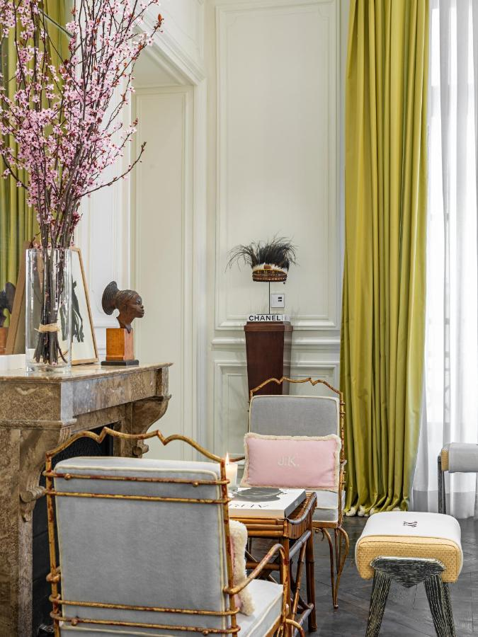 JK Place Paris, a new boutique hotel in Paris with a spa. Classic style with italian elegance