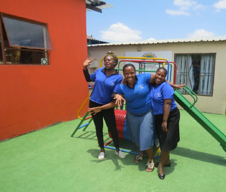 Photo: Angel Academy preschool in Diepsloot after it was refurbished.