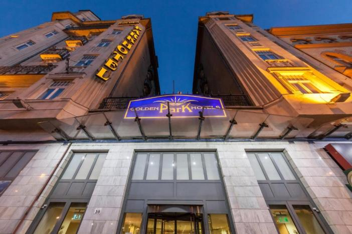 Отели Будапешта в районе вокзала: Novum Hotel Golden Park