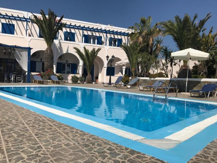 Villa Ilios, Fira, Greece - how to travel in Santorini on a budget itinerary