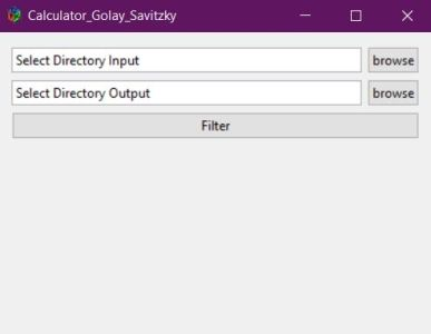 New Package to Process TVDI index and Filter Golay Savitzky Raster