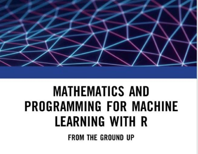 New R textbook for machine learning