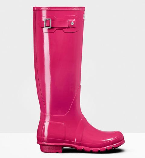 Hunter Pink Rainboot