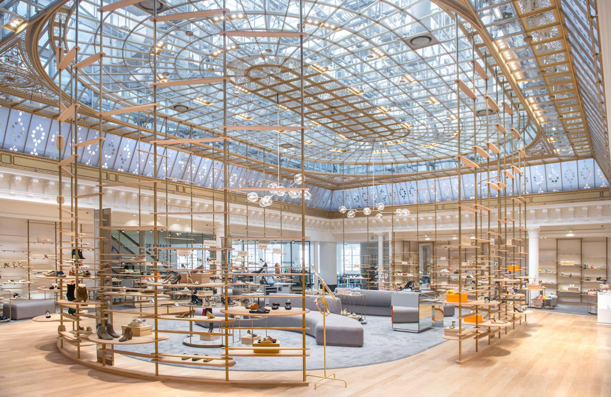 Le Bon March Parisian Department Store Selective