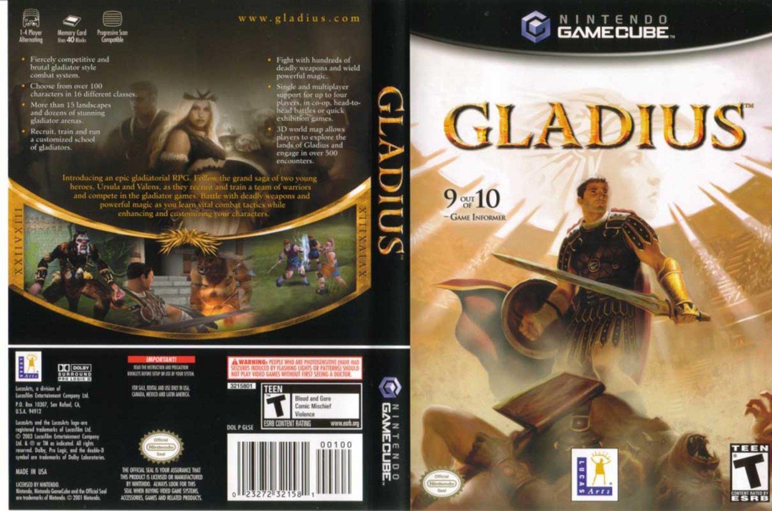 Gladius ISO