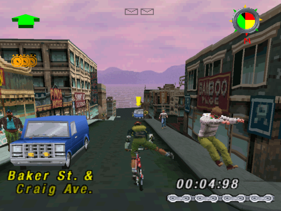 Courier Crisis PS1 ROM #6