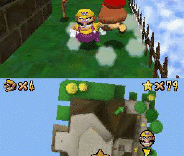 Screenshot Thumbnail Media File 1 For Super Mario 64 Ds Utrashman
