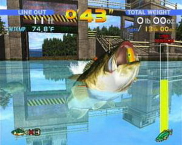 Sega Bass Fishing  USA  ISO   DC ISOs   Emuparadise Screenshot Thumbnail   Media File 5 for Sega Bass Fishing  USA