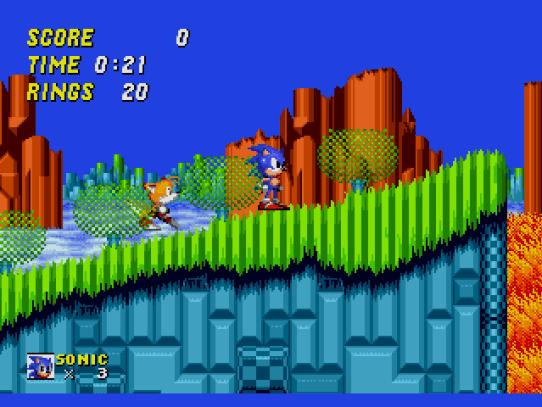 Image result for Sonic The Hedgehog 2 genesis