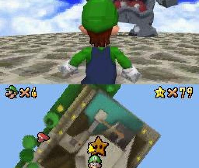 Screenshot Thumbnail Media File 2 For Super Mario 64 Ds V01 J