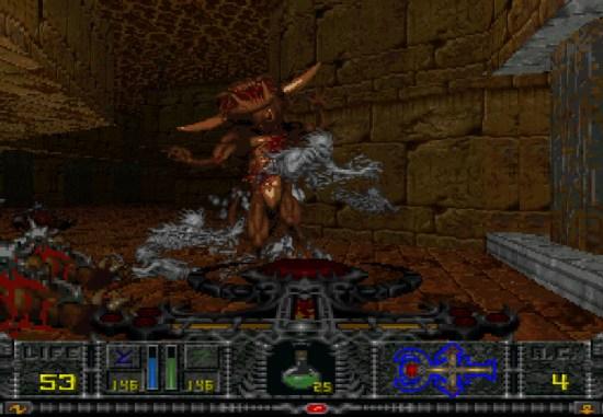 Hexen PS1 ROM #14