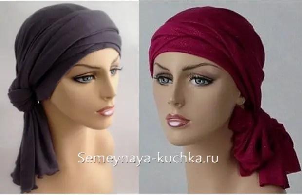 如何在头上绑一个漂亮的围巾