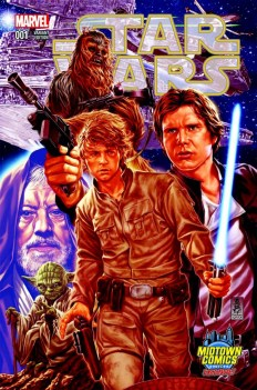 Star Wars 1 Mark Brooks 1 of 3 Connecting Variant Cover