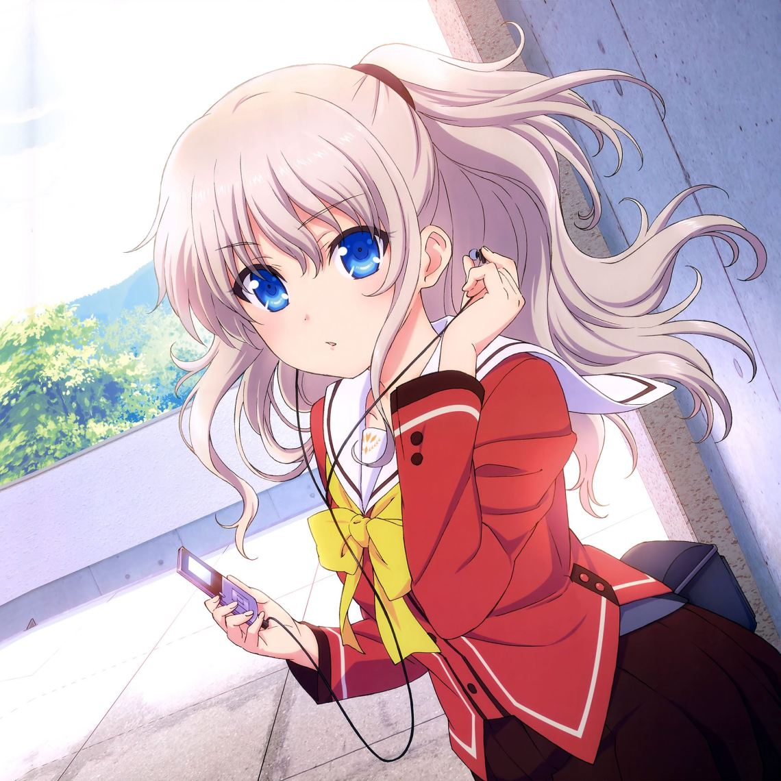 Chalorette Anime Girl Cute Art Illustration Ipad Air Wallpapers Free Download