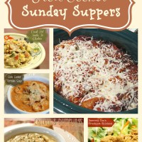 Easy Slow Cooker Sunday Suppers