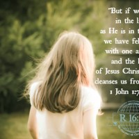 Scripture Sunday: 1 John 1:7