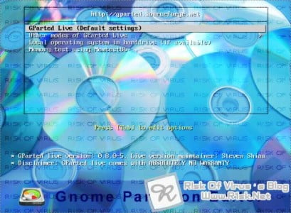 gparted-live-cd