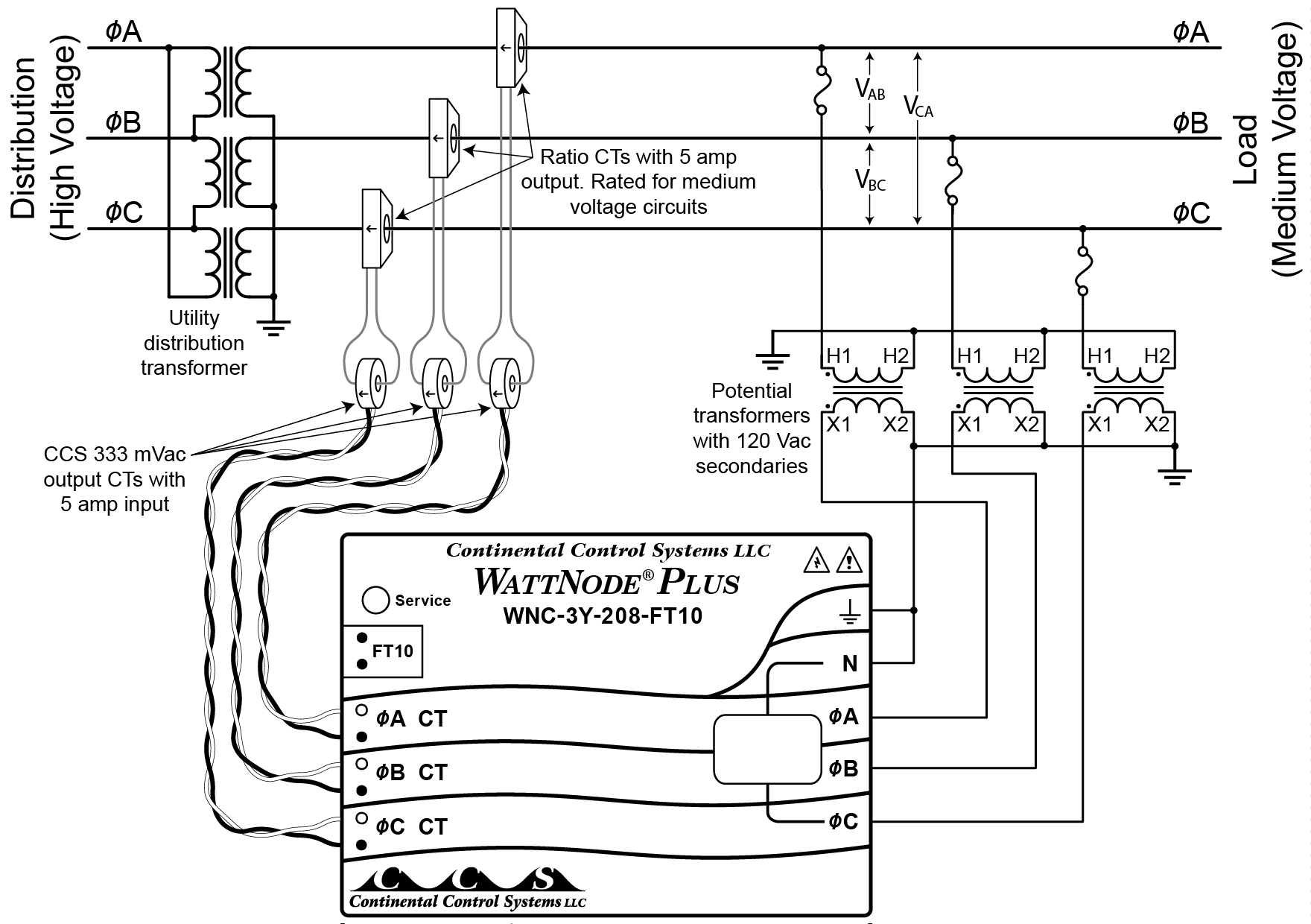 2wire Single Phase Transformer Wiring Diagram