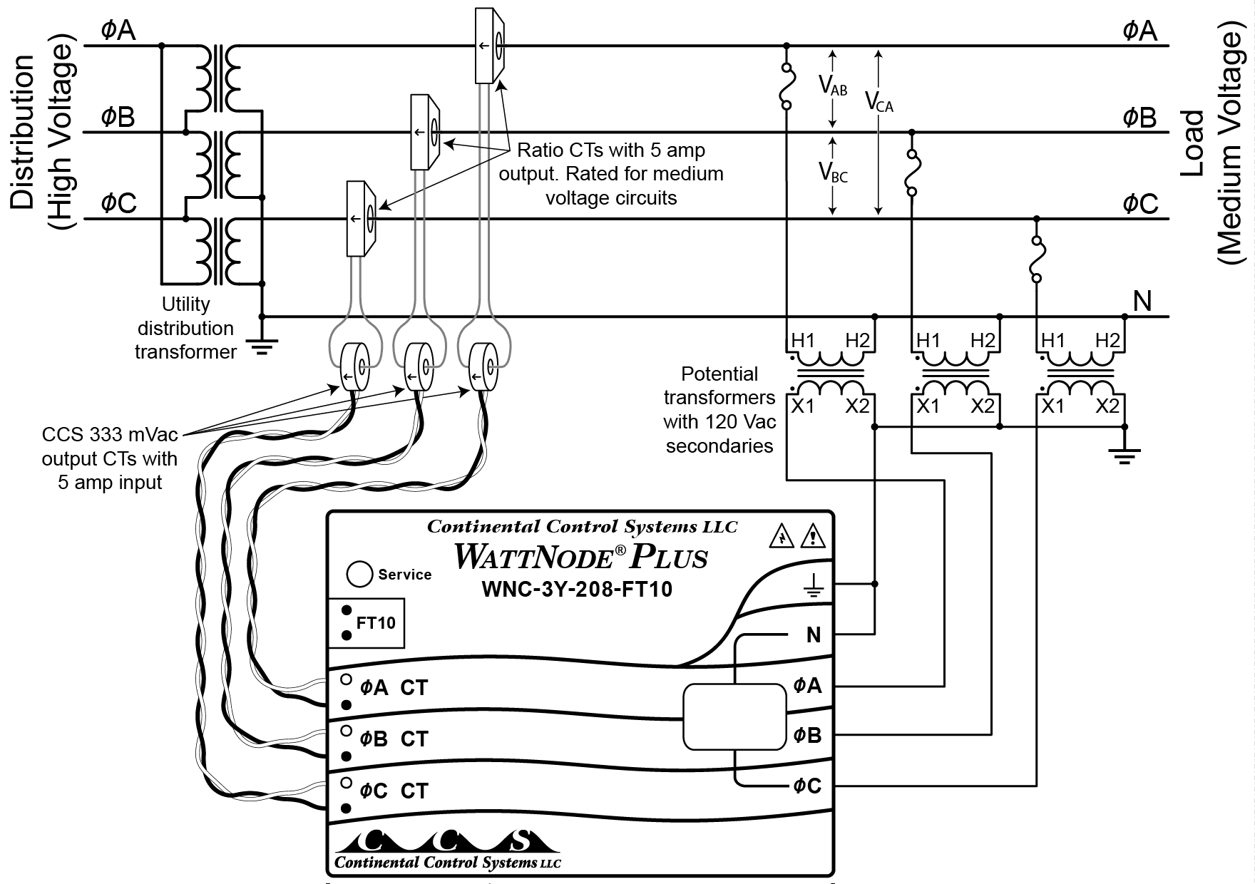 Utility Transformer Wiring Diagrams