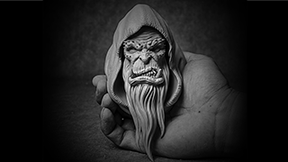 The next work -Orc Bust