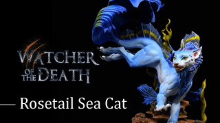 Watcher of the Death-Rosetail Sea Cat-painting version