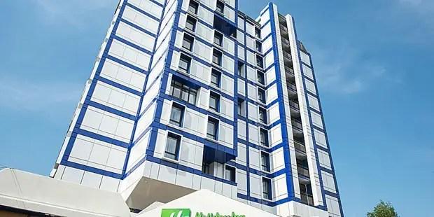 هتل در زمان ما به هر حال، تنها 3 ستاره دارد. عکس از وب سایت رسمی: https://www.ihg.com/holidayinnnexpress/hotels/en/ru/moscow/mowkh