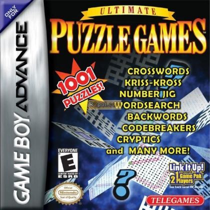 Ultimate Puzzle Games 1001 GAMES GBA Game Boy Advance   brand new     Ultimate Puzzle Games 1001 GAMES GBA Game Boy Advance   brand new  sealed