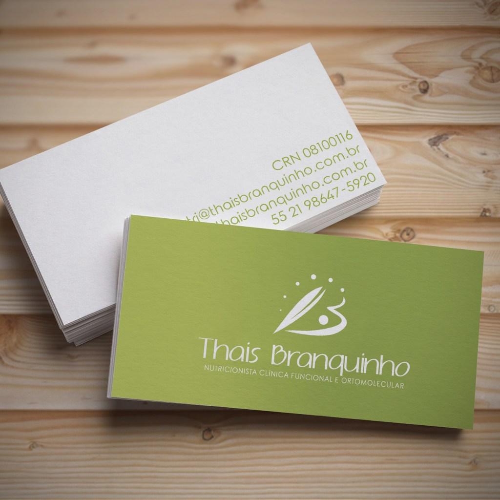 Cartão Dra. Thais Branquinho