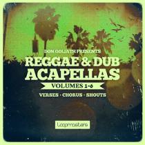 Don Goliath - Reggae & Dub Acapellas Vol.1-6 MULTIFORMAT
