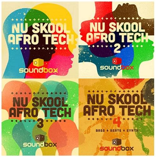 SB Nu Skool Afro Tech Vol 1-4 Bundle WAV - r2rdownload