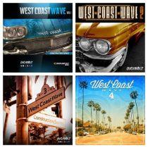 DigiNoiz: West Coast Wave Vol.1-4 WAV