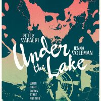 Stuart Manning poster for Under the Lake