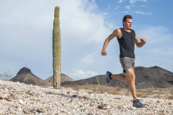 Tucson man gets back to running