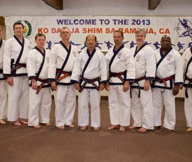 Region 6 Members At 2013 Ko Dan Ja Shim Sa