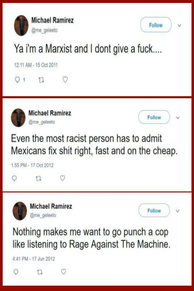 Twitter Account Reveals The Despicable