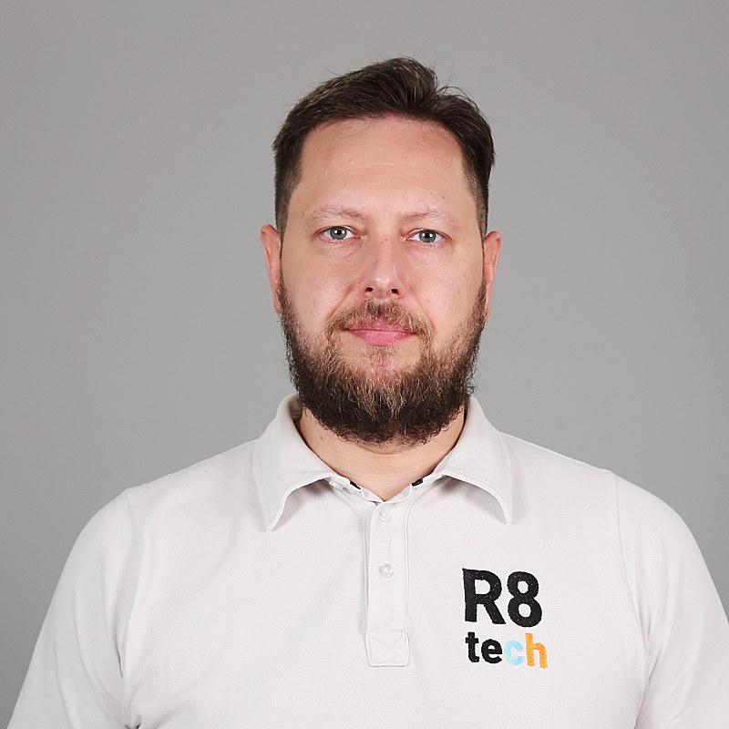 Dr Allan Hani, COO, R8 Technologies