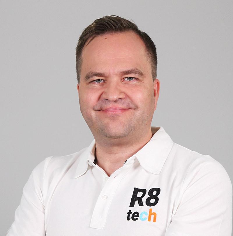 Klaus Ek, CCO, R8 Technologies