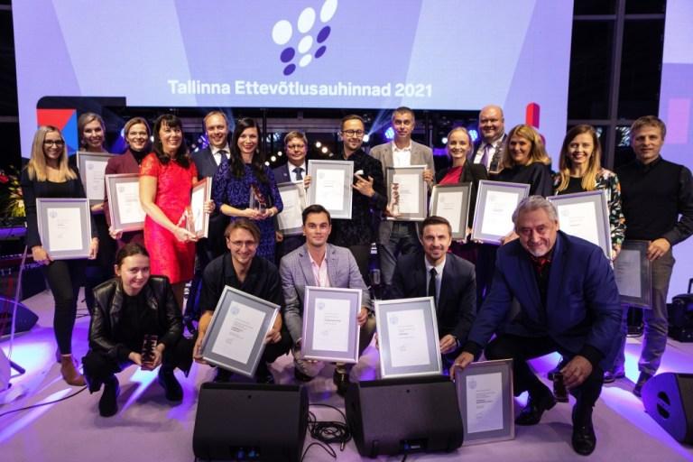 R8 Technologies won annual award given by Tallinn City Office!