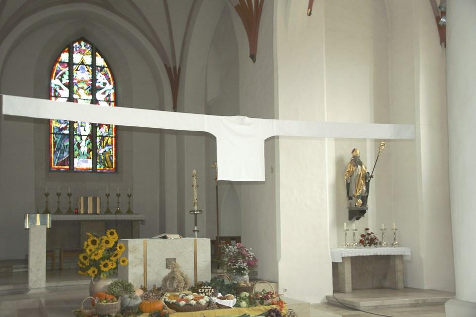 """Rauminstallation """"Diesseits"""" (Neustadt a. d. Donau)"""