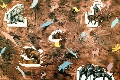 """Titel: Die Fauna (aus der Serie """"Schautafeln"""")"""