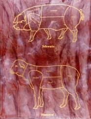 """Titel: Die Fleischwerdung (aus der Serie """"Schautafeln"""")"""
