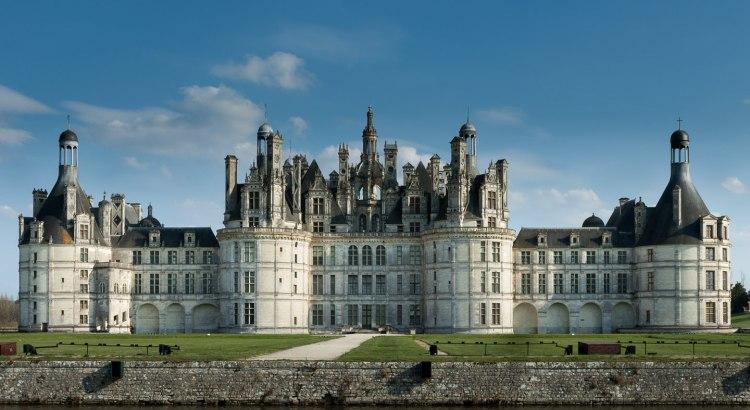 Castelo de Chambord, Vale do Loire, França, 2009