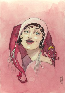 Fantasy fashion illustration 2012