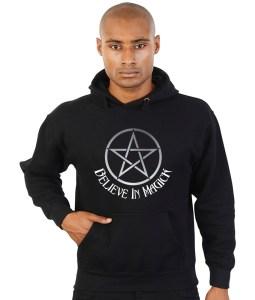 believe in magick pagan hoodie