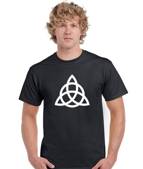 triquetra men's pagan shirt