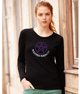 making magick ladies pagan shirt