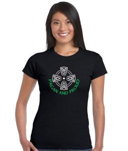 pagan and proud ladies shirt