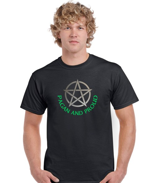 pagan and proud men's shirt