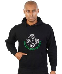 pagan and proud hoodie