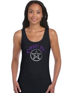 pagan inc with pentacle ladies pagan shirt